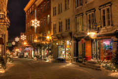 Oud Quebec Stock Fotografie