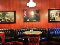 Oud restaurant in Marienbad Stock Afbeelding