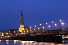 Oud Riga Stock Foto's