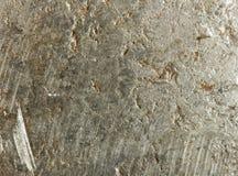 Oud roestig ijzermetaal stock illustratie