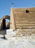 Oud Roman Amphitheater stock afbeeldingen
