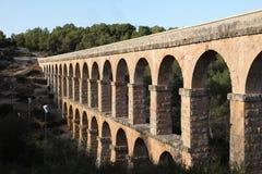 Oud roman aquaduct Stock Fotografie