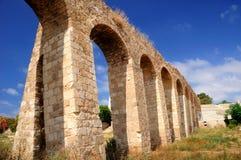 Oud Roman aquaduct Royalty-vrije Stock Afbeelding