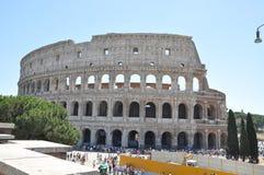 Oud Roman Colosseum, Rome Stock Fotografie
