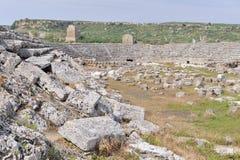 Oud roman gymnasium royalty-vrije stock fotografie