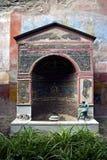 Oud Roman Heiligdom Royalty-vrije Stock Foto's