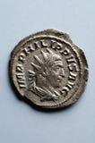 Oud Roman muntstuk Royalty-vrije Stock Foto's