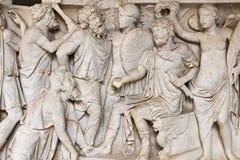 Oud Roman Relief Royalty-vrije Stock Afbeeldingen