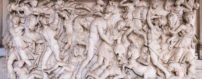 Oud Roman Relief Royalty-vrije Stock Afbeelding