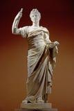 Oud roman standbeeld Stock Foto's