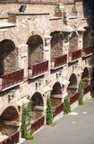 Oud roman theater royalty-vrije stock fotografie