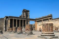 Oud Roman Theatre Royalty-vrije Stock Foto