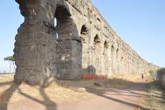 Oud Roman viaduct, Rome Stock Afbeeldingen