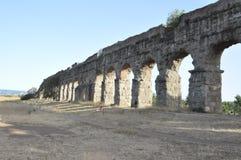 Oud Roman viaduct, Rome Royalty-vrije Stock Foto's