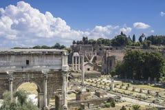 Oud Rome - Italië Royalty-vrije Stock Foto