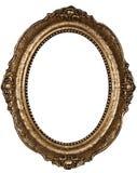 Oud rond gemaakt frame Royalty-vrije Stock Afbeeldingen