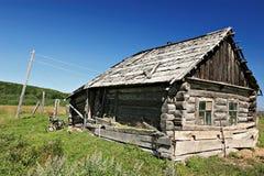Oud Russisch huis 2 Stock Fotografie