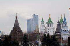 Oud Russisch paleis Stock Foto