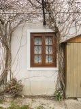 Oud rustiek venster Royalty-vrije Stock Afbeelding