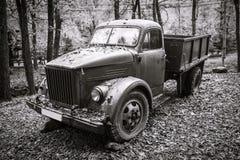 Oud Rusty Vintage Truck Royalty-vrije Stock Fotografie