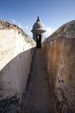 Oud San Juan Fort stock afbeelding
