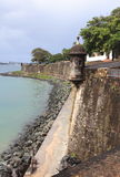 Oud San Juan Paseo del Morro Royalty-vrije Stock Afbeeldingen