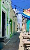 Oud San Juan Puerto Rico Architecture stock afbeeldingen