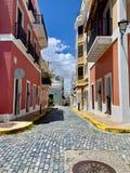 Oud San Juan Puerto Rico Architecture stock foto's