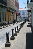 Oud San Juan Street Stock Foto's