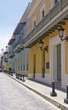 Oud San Juan Street Royalty-vrije Stock Fotografie