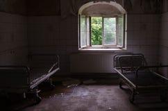 Oud sanatorium Stock Afbeeldingen