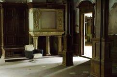 Oud sanatorium in Duitsland Stock Foto's