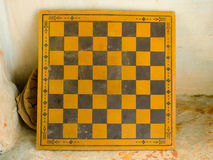 Oud schaakbord Royalty-vrije Stock Foto