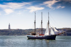 Oud schip Royalty-vrije Stock Foto's