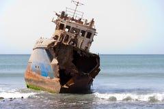 Oud schip Royalty-vrije Stock Afbeeldingen