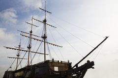 Oud Schip Royalty-vrije Stock Foto