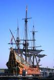 Oud schip - Batavia Stock Foto