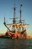 Oud schip - Batavia Royalty-vrije Stock Foto