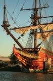 Oud schip - Batavia Royalty-vrije Stock Afbeelding