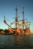 Oud schip - Batavia Royalty-vrije Stock Foto's