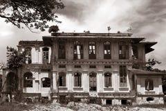 Oud Schoolgebouw in Penang Stock Fotografie