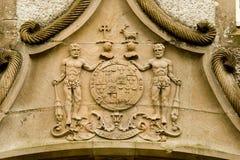 Oud Schots CREST & Motto Stock Fotografie