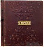 Oud schrootboek Stock Afbeeldingen