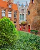 Oud Sint Janshospitaal και εκκλησία της κυρίας μας Στοκ Εικόνα