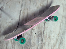 Oud skateboard Royalty-vrije Stock Afbeelding