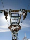Oud Ski Tow Royalty-vrije Stock Fotografie