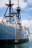 Oud slagschip Royalty-vrije Stock Afbeeldingen