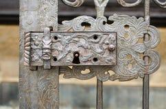 Oud slot Royalty-vrije Stock Afbeeldingen