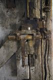 Oud slot in casttle royalty-vrije stock foto's