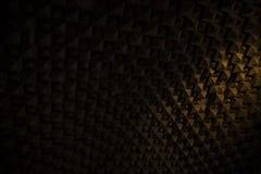 Oud soundproofing systeem stock afbeeldingen